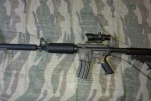TEST CYBERGUN M4A1 M933 Commando