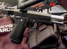 Entretien pistolet à gaz blowback