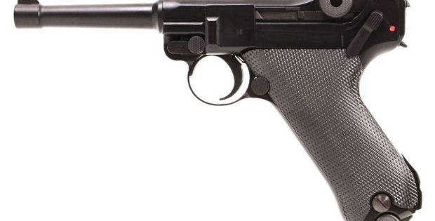 Pistolet WE Luger P08 à gaz